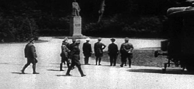 During the Battle of France and the following occupation, Germany systematically ruined the country in May and June 1940.