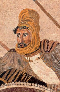 Darius obviously hoped to so debilitate the Macedonians that they would be simple prey for the well-supplied Persian army that he had recruited over the last year.