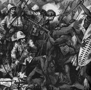 British imperialism and overconfidence leads to a bloody Zulu War at the Battle of Isandlwana.