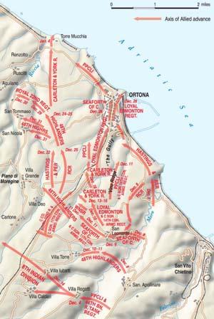 Warfare History Network » The Battle of Ortona: Italy\'s Stalingrad
