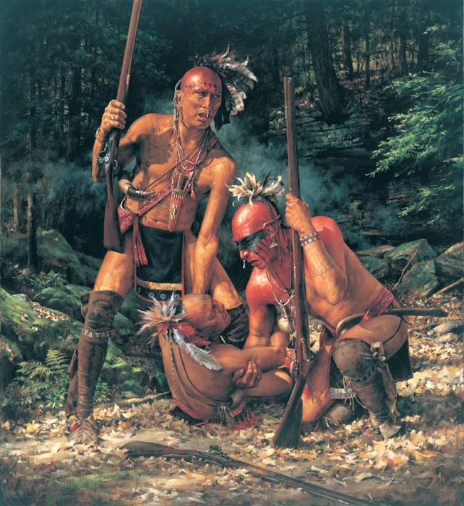 Shawnee Indians and Virginians waged a thunderous and bloody battle at Point Pleasant during Lord Dunmore's War.