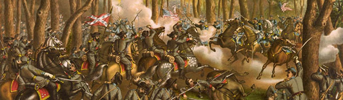 The Battle of Spotsylvania & The Wilderness Show Grant's Determination
