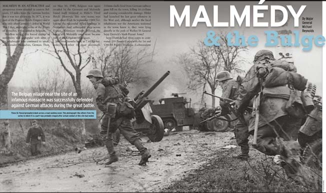 Follow Hitler's last great counteroffensive in The Battle of the Bulge: 70th Anniversary special issue!