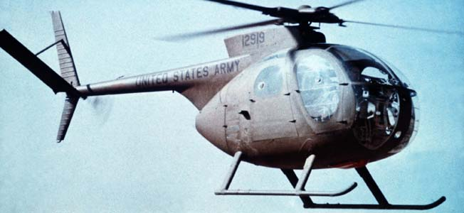 The famed Bell UH-1 Huey and Hughes OH-6 Cayuse Loach demonstrated the versatility of the helicopter during wartime in Vietnam.