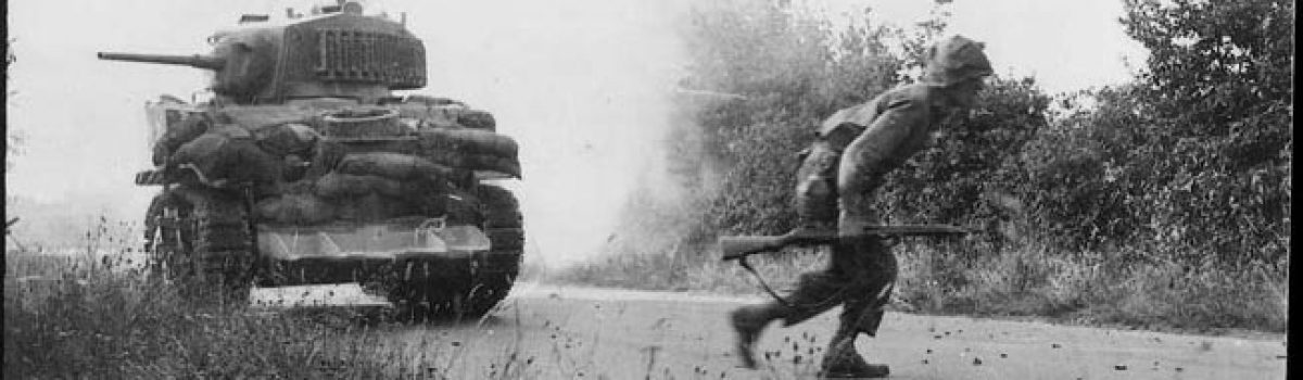 The Big Red One Fought German Panzers At Mortain