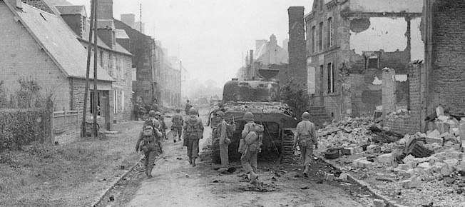 The Big Red One Fought German Panzers At Mortain 5
