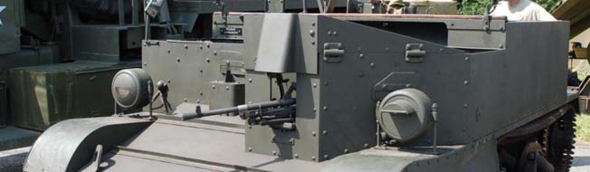 """WWII Vehicles: The British Universal (or """"Bren Gun"""") Carrier"""