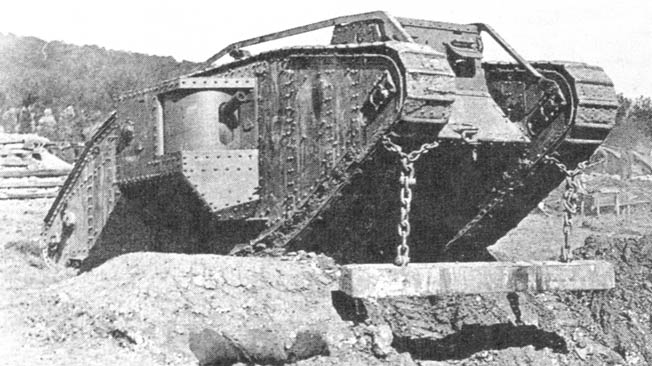 Although armored warfare was still in its infancy, the British Mark IV was one of the more iconic WW1 tanks that were developed for the Great War.