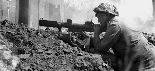The British PIAT (Projector Infantry Anti-Tank) gun was maligned, but effective against enemy armor.