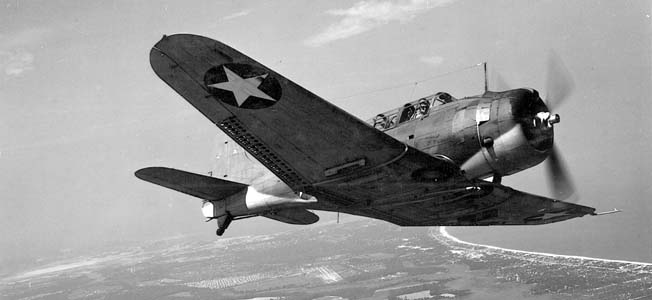 Marine and Navy bomber pilots made history in the Douglas SBD Dauntless dive-bomber, fondly known as 'Slow But Deadly.'