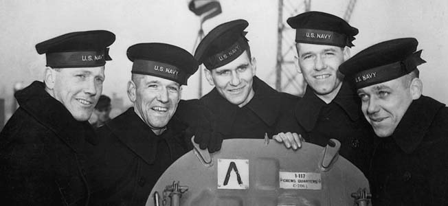 The five Sullivan brothers made the supreme sacrifice aboard the cruiser USS Juneau off Guadalcanal.