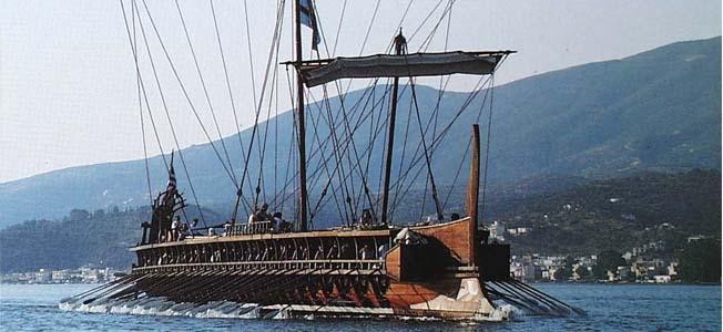 Warfare History Network 187 The Greek Trireme