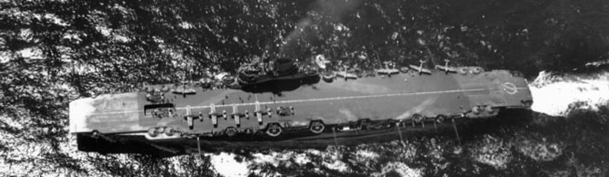 The HMS Illustrious & Other Armored British Carriers Left Their Mark