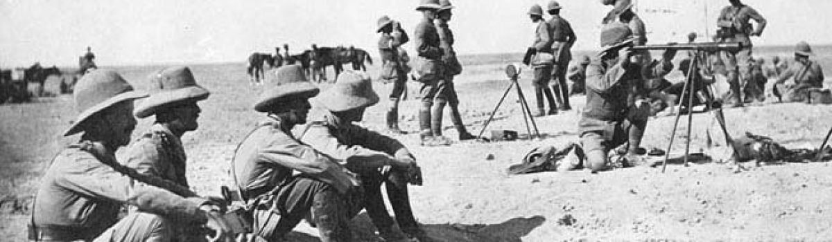 The Haversack Ruse In Gaza Impressed Even Lawrence Of Arabia