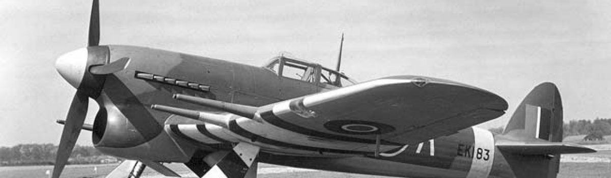 The Hawker Typhoon 1A & 1B: Worst RAF Fighters in WWII?