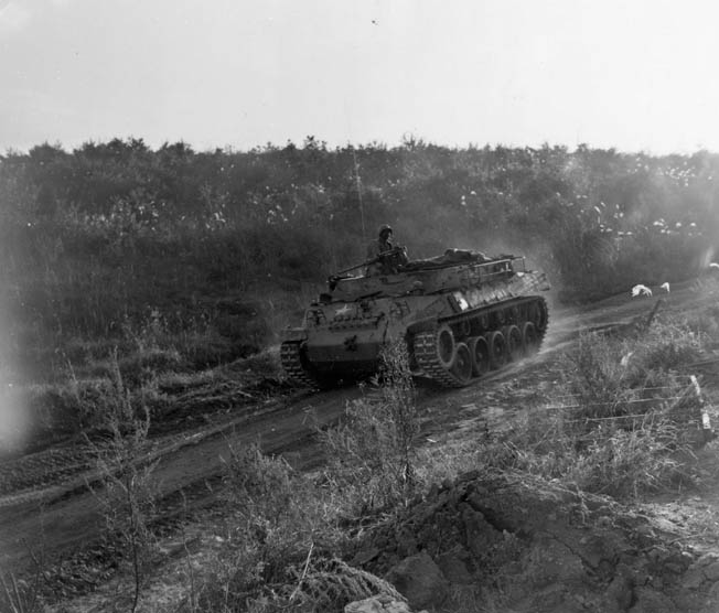 Throughout the spring and summer of 1952, Marines and other Allied units battled the Communists for the various hills and other important terrain features