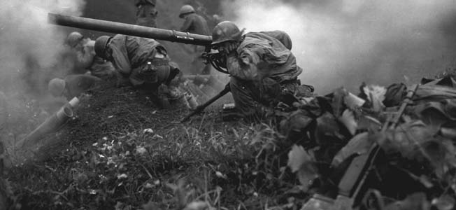 The Korean War began in June 1950, when Communist North Korean forces invaded South Korea. The United States then led a U.N. coalition to end the conflict.