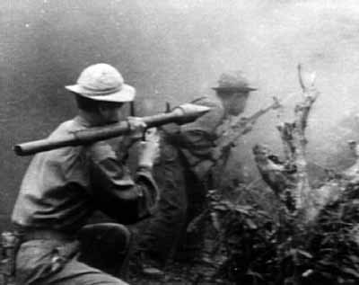 World War II experiences led to more shoulder-fired anti-tank weapons such as the RPG and the M72 LAW, both widely used in the Vietnam War.
