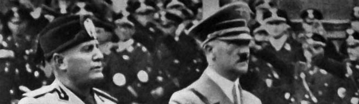 The Military Misadventures of Benito Mussolini
