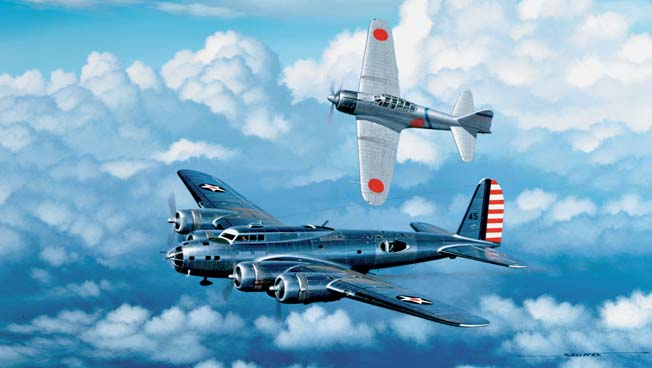 Two captured Japanese Mitsubishi Zero fighters helped unravel the mystery of the plane's apparent invincibility.