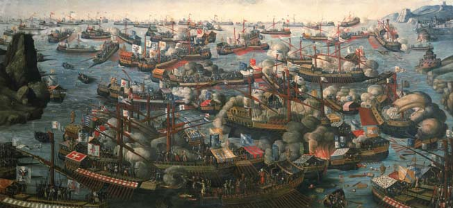 In 1571, Don Juan set out to confront the Muslim fleet Lepanto. But what kind of soldiers did he battle with?