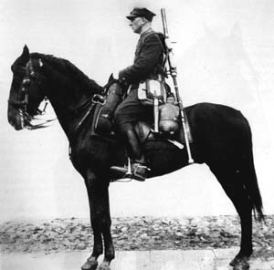 The World War II Polish cavalryman was a well-trained and highly motivated elite mobile infantryman.
