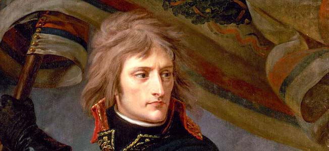 As a young artillery officer, Napoleon Bonaparte gained prominence with heroic exploits at Toulon and Paris during the French Revolution.