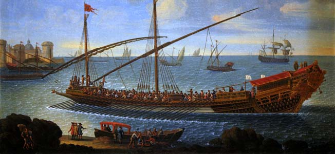 Offering a balance between speed, maneuverability and power, both the Carthaginian & Roman Navy adopted the quinquereme as its standard vessel.
