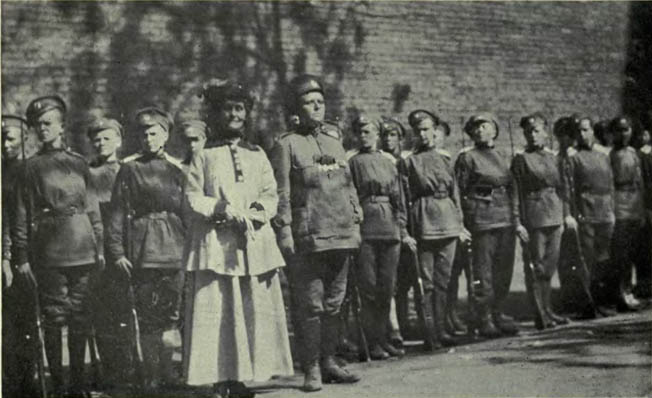 The roles of women in World War 1 took an interesting turn in 1917, when Russia looked to her brave female soldiers to boost morale.