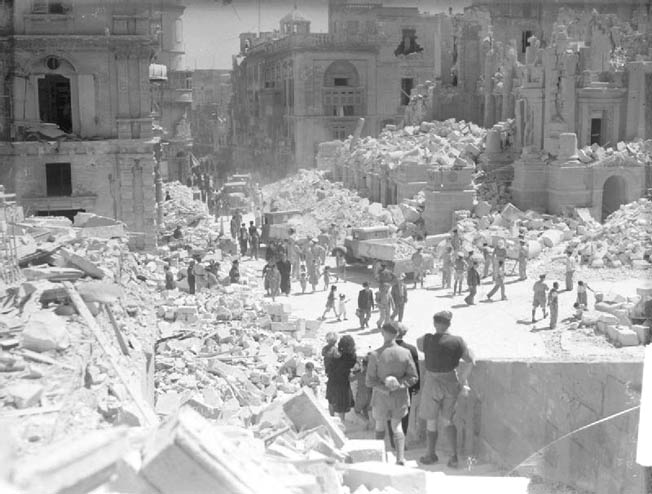 During the Siege of Malta, the small British bastion refused to surrender before an Axis aerial onslaught.