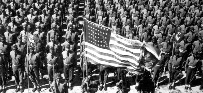The size of the U.S. military exploded in World War II, as army numbers alone soared from 174,000 to over 11 million.