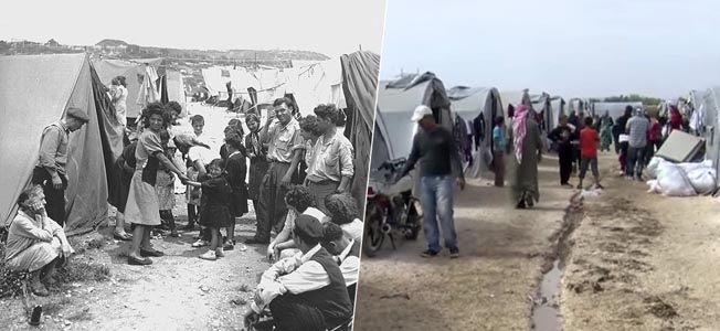 There are already some similarities between today's refugee crisis and Nazi persecution in the 1930s. But how similar, only time will tell.