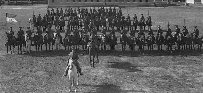 The U.S. Cavalry began to transition away from horses in the years between both world wars.