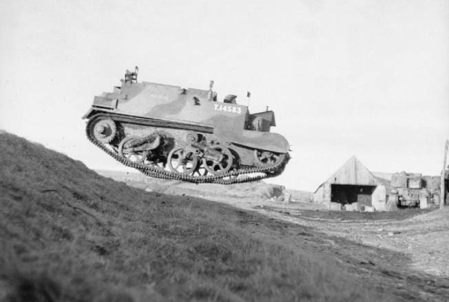 "The British Universal Carrier—often incorrectly referred to as the ""Bren Gun Carrier""—was a WWII vechile used by every Allied army in every theater."