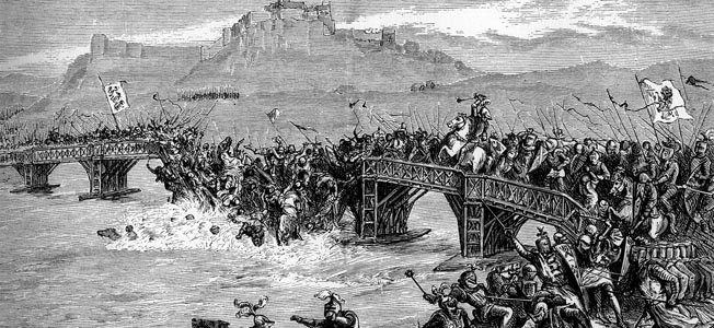 Following the English disaster at Stirling Bridge in 1297, King Edward I marched to Scotland with a mighty host bent on crushing the Scots.