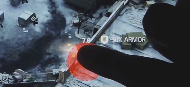 In Tom Clancy's The Division, you'll be able to join other players in real-time gameplay using a tablet-exclusive character that will give you a bird's eye view of the battlefield.