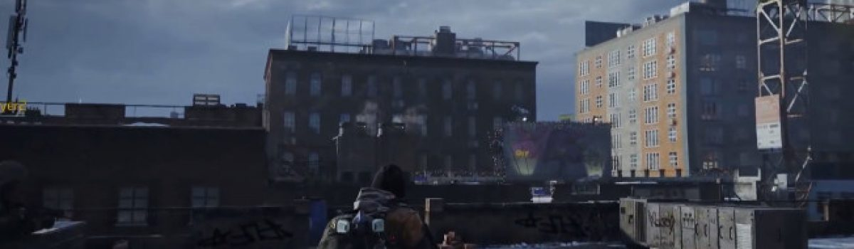 Game Features: Tom Clancy's The Division by Ubisoft