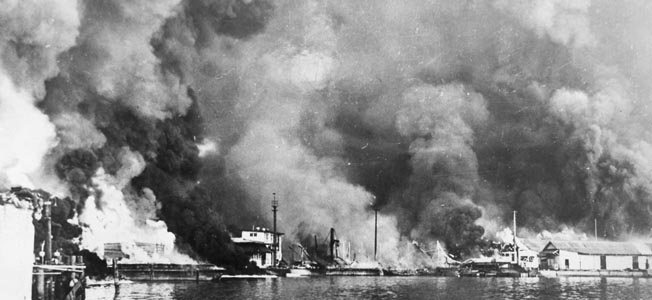 Did President Franklin D. Roosevelt send three small vessels into harm's way to pave the way for America's entry into World War II?
