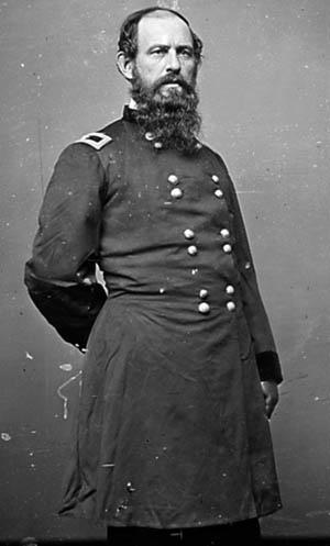 Union Brig. Gen. Erastus Tyler.