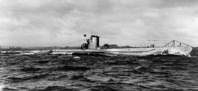 U-47 on a run. After a number of successful patrols, the U-boat and its crew vanished in March 1941.