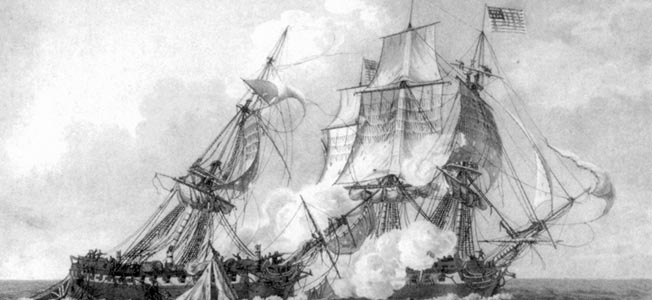 """Old Ironsides"" was a young country's first formidable weapon of war."