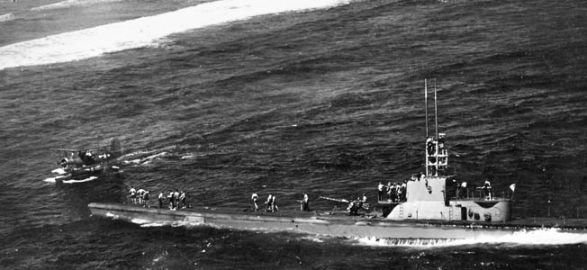 U.S. Navy submarines assisted in the conduct of numerous covert raids during the Pacific War.
