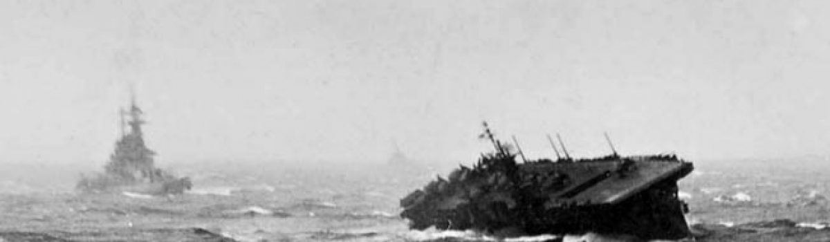Two Typhoons Crippled Bull Halsey's Task Force 38