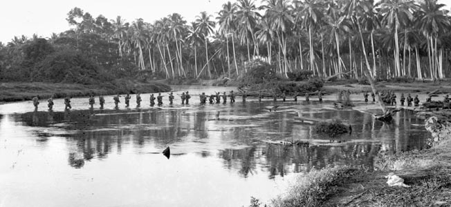 A month-long patrol outside the marine perimeter on Guadalcanal wreaked havoc on the Japanese.