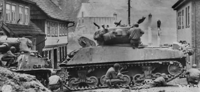 It was the end of April, 1945. And, very soon it would be V-E Day: the end for the German dictator Adolf Hitler, his despotic Nazi regime, and the war in Europe.