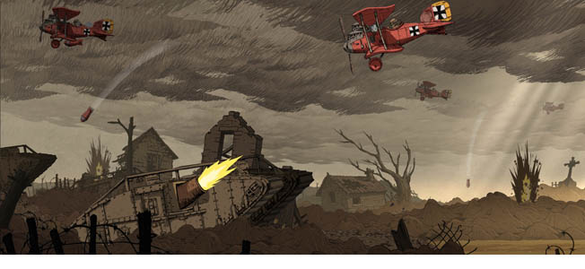 With the approaching 100-year anniversary of World War I, developer Ubisoft Montpelier's release of Valiant Hearts: The Great War highlights this virtually overshadowed conflict and, more importantly, addresses the stories of regular human beings caught in the horrors of wars and trying to assuage the sufferings of combatants and non-combatants alike.