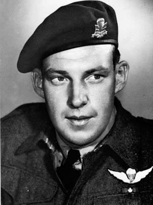 Lt. Col. Jeff Nicklin was killed while commanding the 1st Canadian Parachute Battalion.