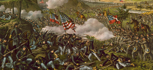 Braxton Bragg's reinforced Army of Tennessee nearly destroyed William Rosecrans' Army of the Cumberland at the Battle of Chickamauga.