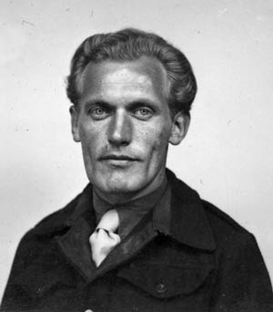 Erwin Engler, photographed about the time of his release in 1948.