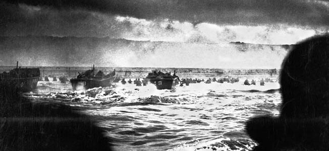 06 Jun 1944, Normandy, France --- Landing Craft Heading to Normandy --- Image by © CORBIS